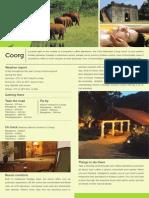 Club Mahindra Madikeri Coorg FactSheet
