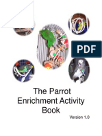 Parrot Enrichment Activity Book