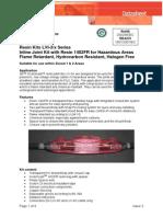 3M- Scotchcast- LV Hazard Area-Armoured Technical Data Sheet