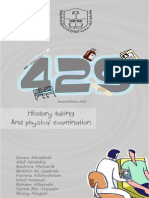 429 History Taking and Physical Examination Booklet 2nd Edition 2013 (1)