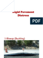 Distress in Rigid and Flexible Pavements