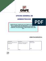 Directiva Rendicion cuentas 2010.doc