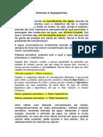 Osmose e Aquaporinas.doc