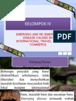 Epidemiologi Bencana & Dampaknya tentang Penyebab Emerging & Re-Emerging Disease