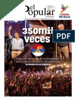 Edición especial El Popular Elecciones Nacionales 2014 Órgano de Prensa del Partido Comunista de Uruguay