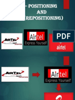 Airtel – Positioning and Repositioning.