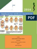 Implicacnicas médicas de la meiosis.docx