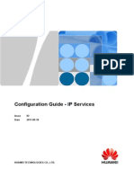 Configuration Guide - IP Services(V600R003C00_02)