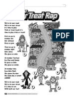 trick or treat rap and worksheet
