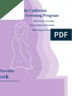 Prenatal Screening Program