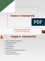 Chapter 4 Advanced SQL