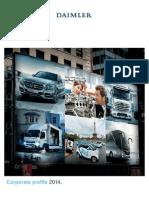 Daimler Corporate Profile 2014