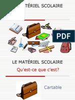 Matériel Scolaire.ppt