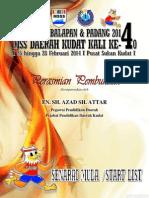 Buku Start List  2014