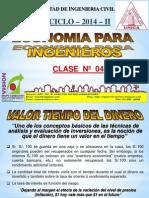 Clase 04 ECONOMIA PARA ING 2014 II.pdf