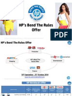 HP Bend the Rules 2014 Offer