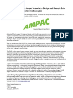 Ampac Introduces Design and Sample Lab (DASL) for New Product Technologies