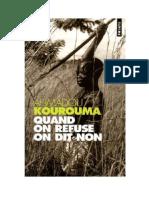 Quand on refuse on dit non - Kourouma, Ahmadou.pdf