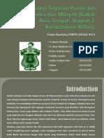 Rekonstruksi Tegasan Purba Dan Geodinamika Dari Wilayah Baikal 2, Intro &TS