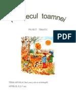 Proiect Tematic Farmecul Toamnei
