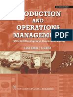 Book of Production and Operations Management