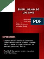 Tribu urbana de los emos.pptx
