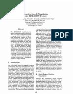 SLT 1997 FrederkiTranslation Memory Engines