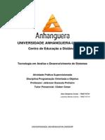 ATPS - Programação Orientada a Objetos.docx