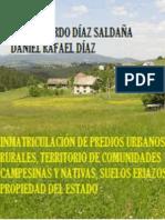 INMATRICULACIÓN DE PREDIOS URBANOS, RURALES, TERRITORIO DE COMUNIDADES CAMPESINAS Y NATIVAS, SUELOS ERIAZOS Y PROPIEDAD DEL ESTADO.docx