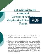 Drept Administrativ Comparat Franta