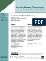 La retorica en la antiguedad griega y china - revista de iberoamericana de argumentación.pdf