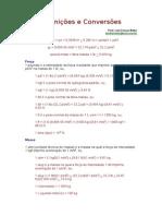 Definições e Conversões.doc