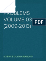 International Chemistry Olympiad Problems Volume 03 (2009-2013)