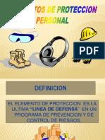 ELEMENTOS DE PROTECCION PERSONAL.ppt