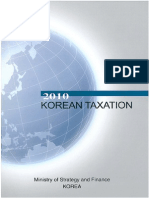 Korean Taxation 2010