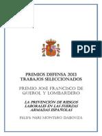 LA PREVENCIÓN DE RIESGOS LABORALES EN LAS FUERZAS ARMADAS ESPAÑOLAS