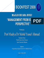 Management In Islamic Perspective