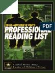 Military Reading List