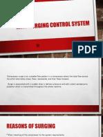 Anti-Surging Control System