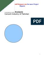 Cement Industries Analysis
