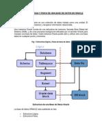 Estructura Logia y Fisica de Una Base de Datos en Oracle