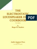 The Electrostatic Loudspeaker Design Cookbook Pdf