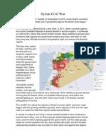 Syrian Civil War.docx