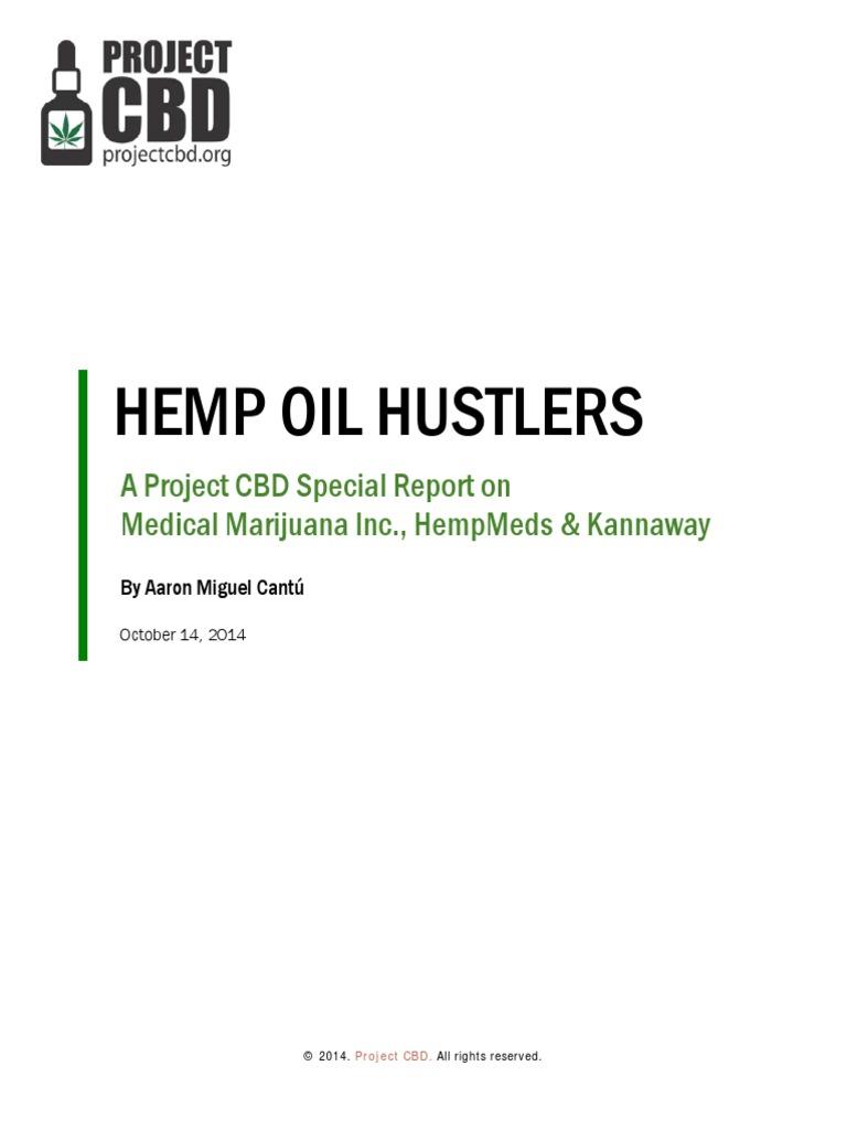 Hemp Oil Hustlers Cannabis Drug Cannabis