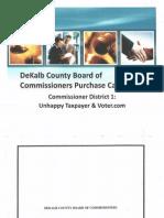 DeKalb County P-Card Audit