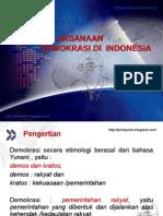 PELAKSANAAN DEMOKRASI DI INDONESIA