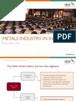 Metals Industry Sept 2009