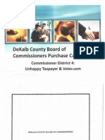 DeKalb County P-Card Audit