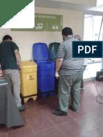 Separación de residuos en la Facultad de Ciencias Sociales - UBA