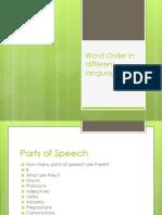 wordorder